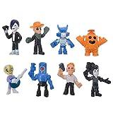 Jolntp Brawl Star Dessin animé Personnage Ensemble héros Leon Primo Dessin animé modèle Mortis poupée Jouet garçon Enfant Cadeau d'anniversaire-dix
