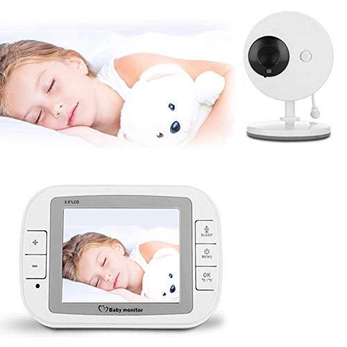 SWEET Moniteur pour Bébé Audio Seulement 2 Unités Parentes Prennent en Charge La Rotation Horizontale À 360 ° des Images Haute Résolution Et des Transmissions Haute Vitesse