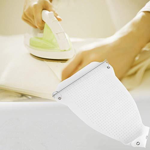 アイロンカバー アイロンパッド テフロン製 当て布不要 テカリ防止 アイロン掛け スムーズな滑り 底板保護 耐熱 通気穴 直熱から守る