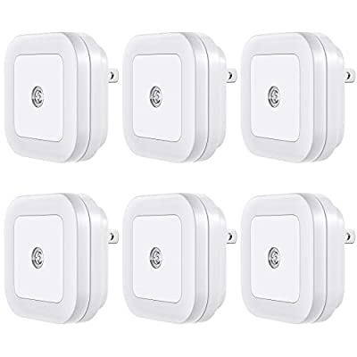 Vont LED Night Light (Plug-in), Smart Dusk to Dawn Sensor, Automatic Night Lights, Suitable for Bedroom, Bathroom, Toilet,Stairs,Kitchen,Hallway,Kids,Adults,Compact Nightlight (6)