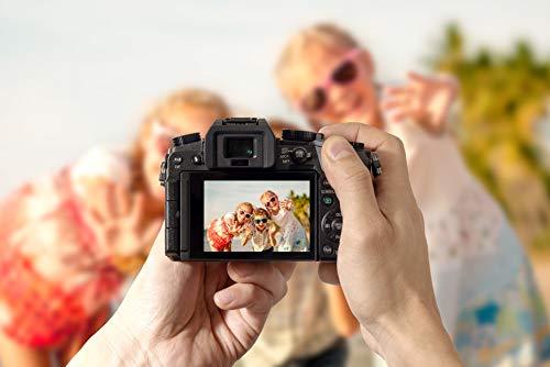 Panasonic Lumix Digitalkamera DMC-G7/DMC-G70, Brennweite 14-42mm / 3.5-5.6,Lumix G Vario, 45-150mm / 4.0-5.6 Asph. / O.I.S. (optischer Bildstabilisator), Lumix G Vario MEGA Asph./OIS Bildstabilisator, Digitalkamera und Objektiv, 16.84Megapixel