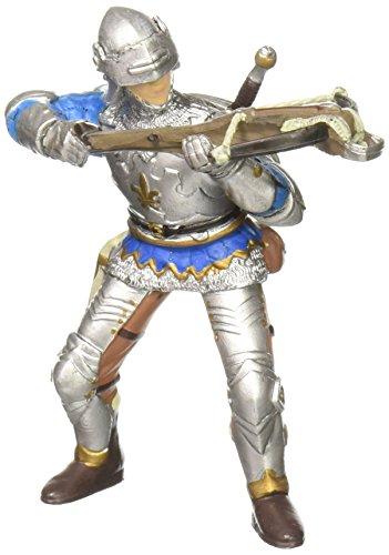 Papo 39753 Armbrustschütze mit Rüstung, blau Mittelalter - Fantasy Figur, Mehrfarben