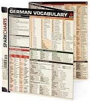 German Vocabulary (SparkCharts)
