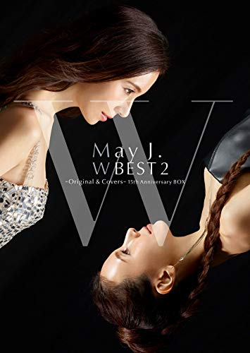 【Amazon.co.jp限定】May J. W BEST 2 -Original & Covers-(CD2枚組+DVD4枚組)(初回生産限定盤)(メガジャケ付き)