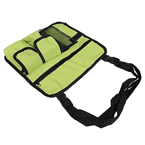 Borsa portaoggetti, borsa per braccioli per sedia da spiaggia leggera multiuso multitasche Design in tessuto Oxford 600D per sedie da spiaggia Sedie da pesca Sedie da ufficio