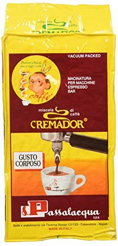 Cremador - Miscela di Caffè, Tostato e Macinato - 2 pezzi da 250 g [500 g]