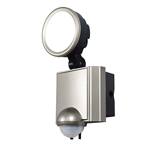 ELPA 朝日電器 LEDセンサーライト ESL-SS1001AC ESL-SS1001AC 14.5×18×11.5cm 白色