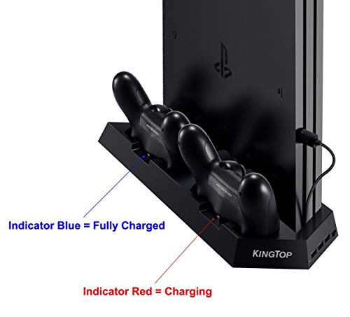 KINGTOP PS4 Universal Controller Charger - Best PS4 Controller Charger
