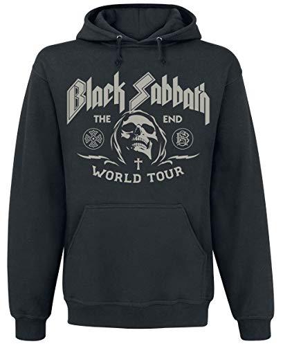 Black Sabbath The End Grim Reaper Männer Kapuzenpullover schwarz XXL