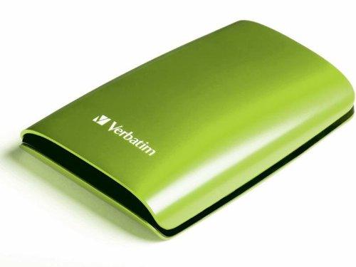 Verbatim 500GB externe Festplatte (6,4 cm (2,5 Zoll), 5400rpm, USB 2.0) Eucalyptus Green
