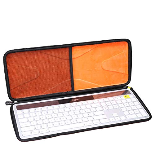 Mchoi Hard Portable Case Compatible with Logitech K750 Wireless Solar Keyboard(Case Only)
