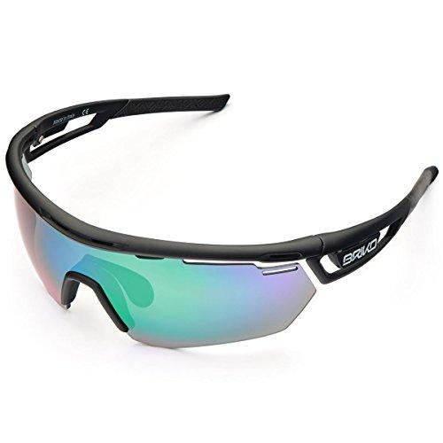Briko Herren CYCLOPE 2 Lenses Brille, C51 Black Matt-Gm3p1, Einheitsgröße