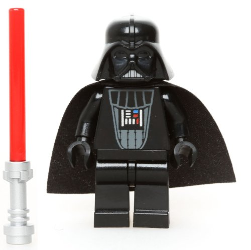 LEGO Star Wars Minifigur Darth Vader (Imperial Inspection) mit Laserschwert