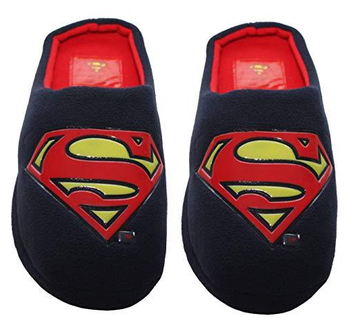 Pantuflas para hombre con diseño de Superman Batman Grinch Superhéroe, color, talla 42...
