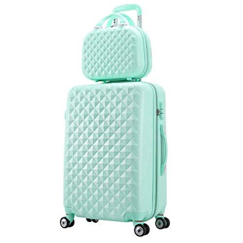 2 unids/Set Bolsa de cosméticos para Mujer, niña, Estudiantes, Carrito, Equipaje de Viaje, Maleta,...