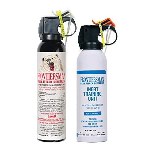 SABRE Frontiersman Bear Spray 9.2 oz (Holster Options & Multi-Pack