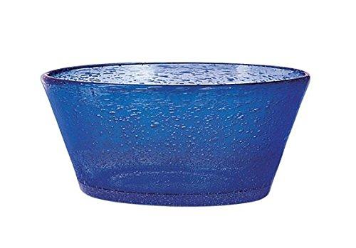 H&H Giada Coupelle Giada, 34 cl, Verre, Bleu, 1 Pièces
