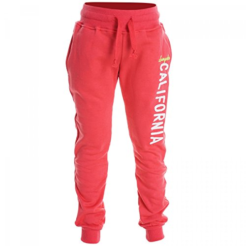 BEZLIT Mädchen Capri Hose Jogginghose Sporthose Trainingshose Herbst Winter Hose 20213 Rot Größe 116