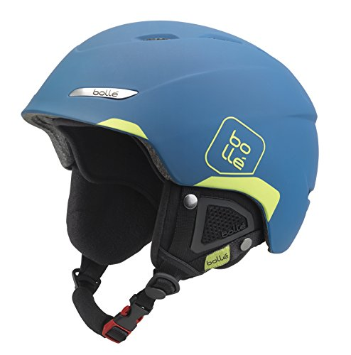 Bollé BYOND Skihelm, Soft Blue/Lime, 54-58 cm