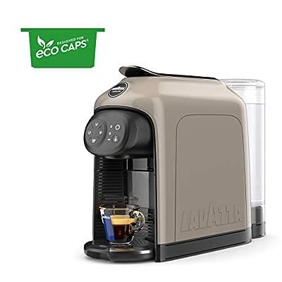 Lavazza A Modo Mio Idola Espresso Coffee Machine, Greige