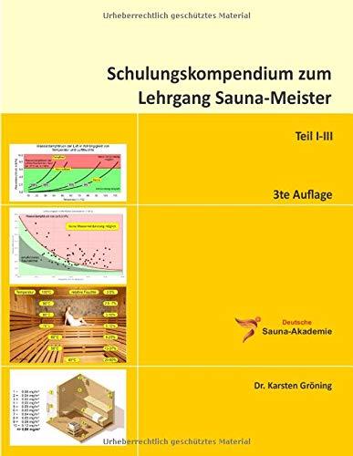 Schulungskompendium zum Lehrgang Sauna-Meister: Inkl. Übungsaufgaben und Lernzielkontrollen