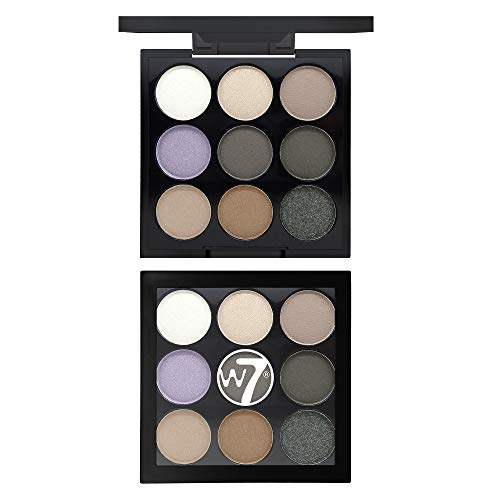 W7 | Eyeshadow Palette | The Naughty Nine Eye Colour Compact - Hard Day's Night | 9 Shades