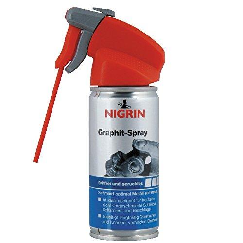 Nigrin Graphit Spray 100ml Pulver Schmiermittel Graphitspray Sprühöl