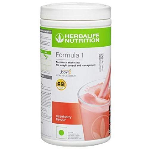 Herbalife Formula 1 Healthy Meal Nutritional Shake Mix 500g (Strawberry)