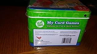 LeapFrog My Card Games: Math Rummy & Alphabet Go Fish