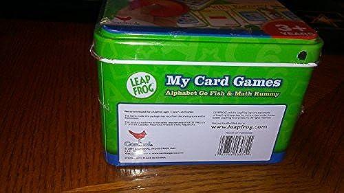 Leap Frog My voitured Games  Math Rummy & Alphabet Go Fish