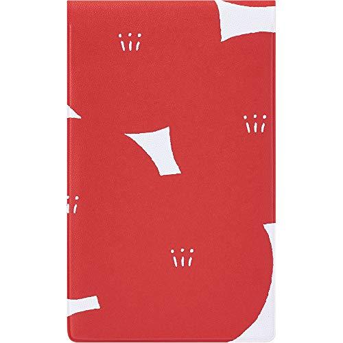 キングジム マスキングテープ KITTA 専用ファイル 6ポケット 赤 KIT-F06アカ