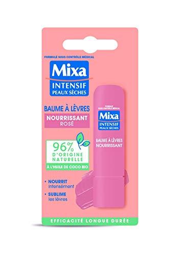 Mixa Baume à Lèvres Nourrissant Rosé 1 Unité