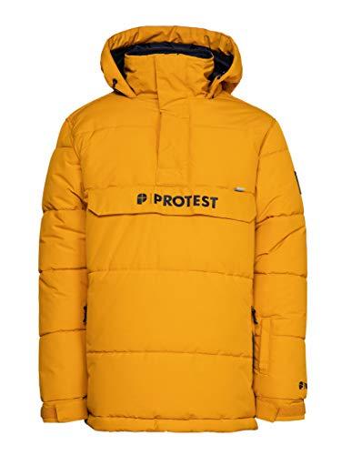 Protest Jungen Skijacke Dylan JR 10K wasserdichte und atmungsaktiv Dark Yellow 164