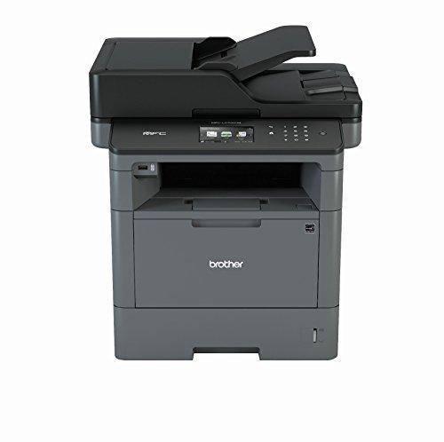 Brother MFC-L5700DN A4 MFP mono Laserdrucker (40 Seiten/Min., Drucken, scannen, kopieren, faxen, 1.200 x 1.200 dpi, Print AirBag für 200.000 Seiten)