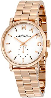 Marc by Marc Jacobs Baker Women's Stainless Steel Band Watch