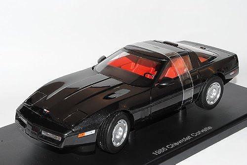 AUTOart Chevrolet Chevy Corvette C4 Coupe Schwarz1983-1996 71242 1 18 Modell Auto