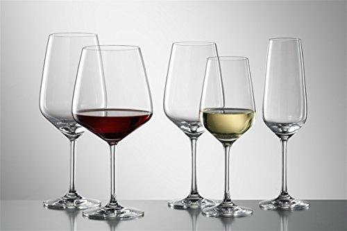 Schott Zwiesel Taste - Set de copas para vino blanco, tinto y seco (18 piezas)