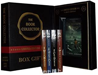 Percy Jackson Collection: Lightning Thief, the Sea of Monsters, the Titan's Curse, the Battle of the Labyrinth & the Last ...