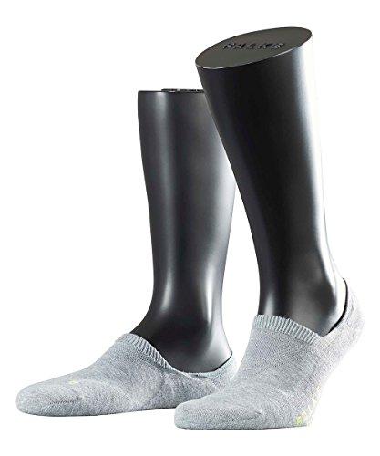 FALKE 3 Paar Socken 16601 Cool Kick IN Sneaker Sportlicher Invisible, Farbe:Light grey 3400, Socken und Strümpfe:42-43