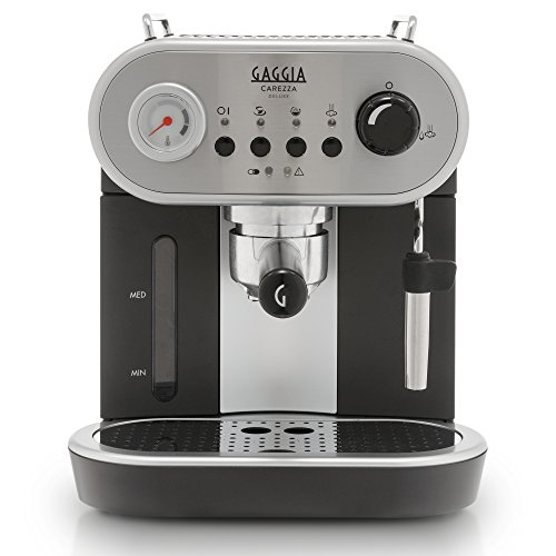 Gaggia Carezza De LUXE Espresso Machine, Silver