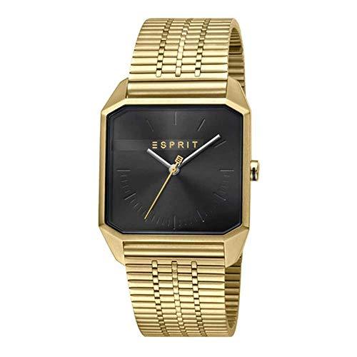 Esprit ES1G071M0065 Cube Gents Black Gold Herrenuhr