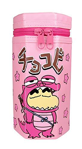 ティーズファクトリー ティーズ クレヨンしんちゃん ペン ケース ポーチ 筆箱 チョコビ ピンク 約18×8×8.5cm KS-5517701PK