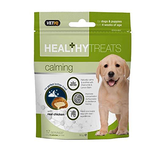 VetIQ - Snacks relajantes para perros (50g) (Variado)