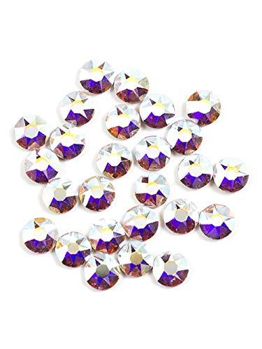 Swarovski - Create Your Style 47599193 4mm Aurora Borealis Flatback Crystals (Includes 26