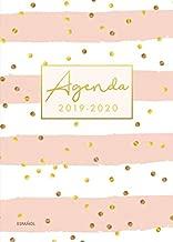 agenda 2019-2020 español: Organiza tu día - Agenda semanal 18 meses - Julio 2019 a Diciembre 2020 (Spanish Edition)