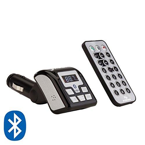 Steren MP3-058 Transmisor Fm C/Rep Mp3 Usb/Sd y Bluetooth