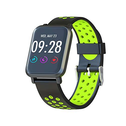 Surveillance de la santé du compteur de pas de sport Bluetooth montre intelligente, montre de rappel d'informations imperméable à l'eau, montre de batterie longue veille, bracelet intelligent multi