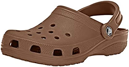 Crocs Unisex-Adult Classic Clog (Retired Colors) | Water Comfortable Slip On Shoes, Bronze, 8 Women/6 Men