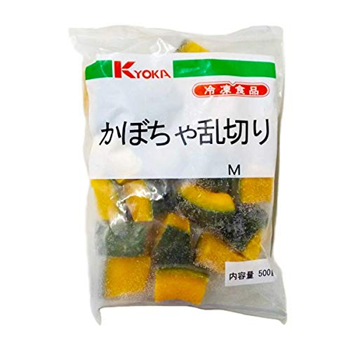【冷凍】京果食品 かぼちゃ乱切り M 500g 業務用 冷凍野菜