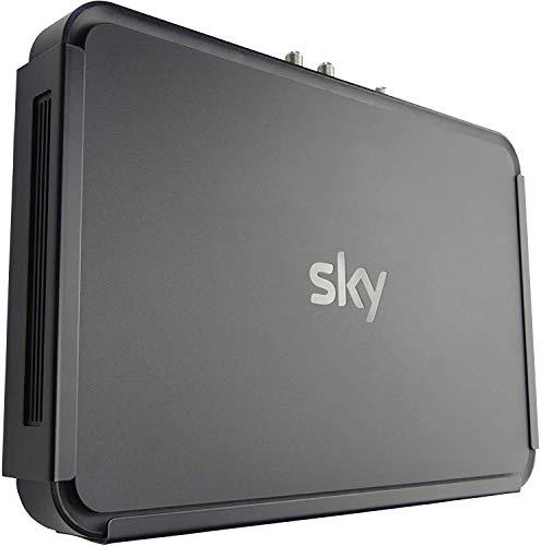 Q-View staffa di montaggio a parete per Sky Q Black (modello 1 TB)